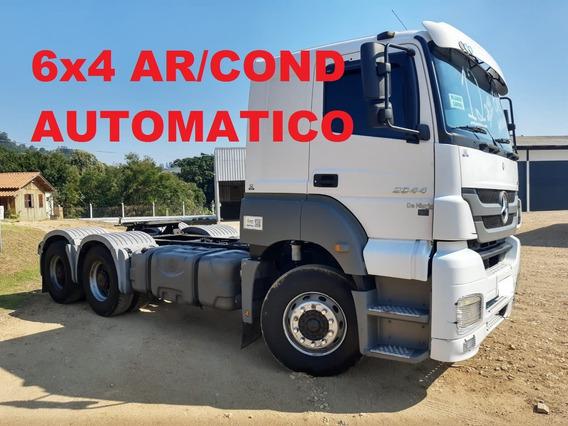 Axor 2644 6x4 2012/2012 , Automático , Bom De Pneus...