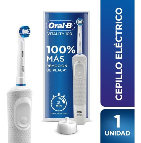 Imagen 1 de 9 de Cepillo De Dientes Eléctrico Recargable Oral-b Vitality