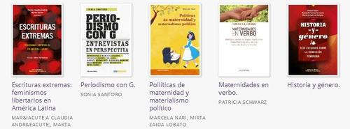 Imagen 1 de 2 de Combo 3 Biblioteca De Género Y Sexualidades 5 Libros (ct)