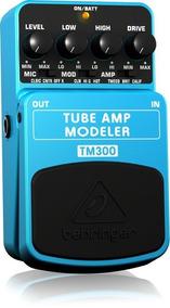 Pedal Behringer Tm300 Simulador De Amp Fender, Mesa, Marshal