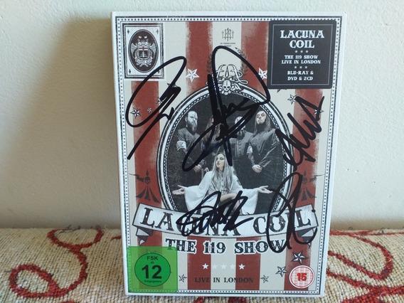 Lacuna Coil: The 119 Show -box (autografiado). (nightwish )