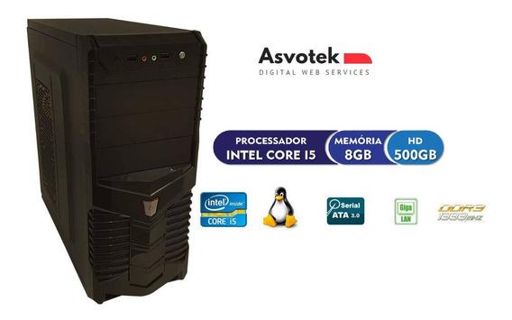 Computador Intel Core I5 8gb Hd 500 Asvotek