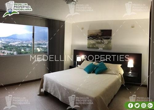 Apartamentos Amoblados Medellin Mensual  Cód: 4698