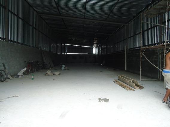 Galpão Comercial Para Locação, Centro, São Vicente. - Ga0057