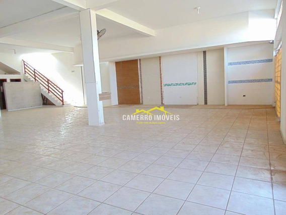 Salão À Venda, 580 M² Por R$ 1.300.000,00 - Parque Residencial Jaguari - Americana/sp - Sl0313