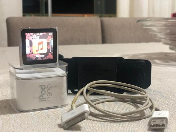 iPod Nano 16gb Silver Apple Abaixamos Pra Vender Rápido!
