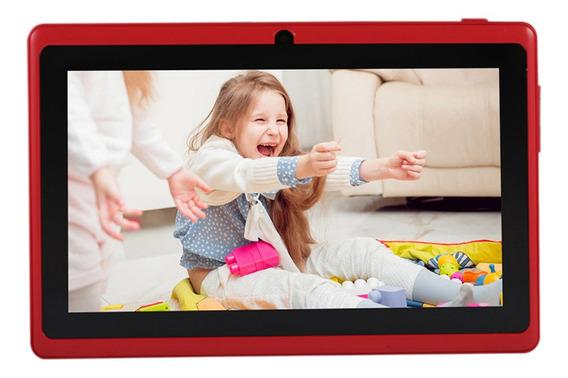 7 Polegadas Kids Tablet Pc Com Câmeras Duplas 8gb Quad-core