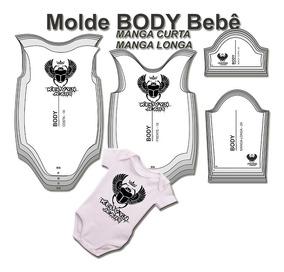 Molde Body Bebê - Tam. Rn - P - M - G - Gg