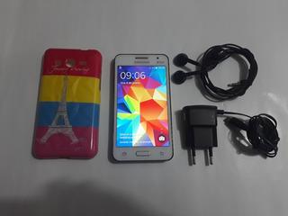 Smartphone Samsung Galaxy Core 2 Duos Sm-g355m Com Capinha