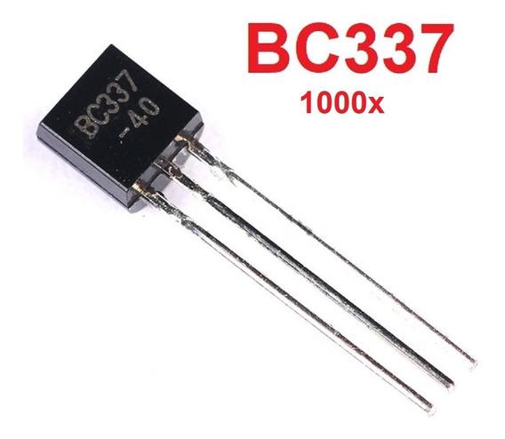 1000x Transistor Bc337-40 Maior Ganho