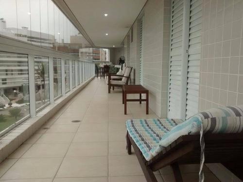Apartamento Com 4 Dormitórios À Venda, 178 M² Por R$ 2.500.000,00 - Riviera - Módulo 7 - Bertioga/sp - Ap0916