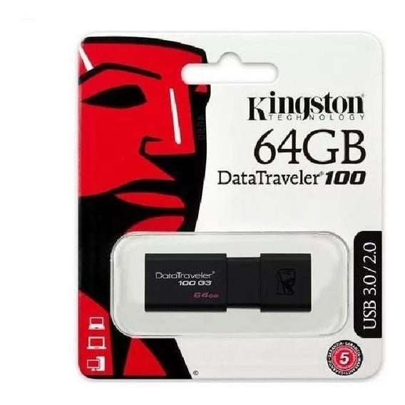 Pen Drive 64gb Kingston Dt106 3.02.0 Original