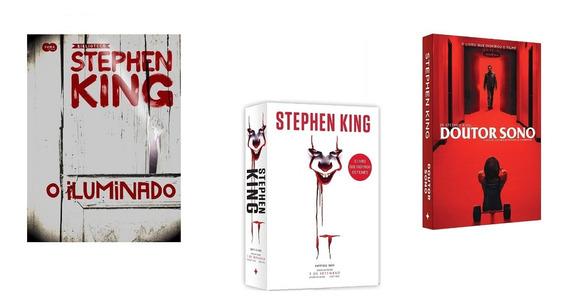 Kit: It. A Coisa Stephen King+o Iluminado +doutor Sono