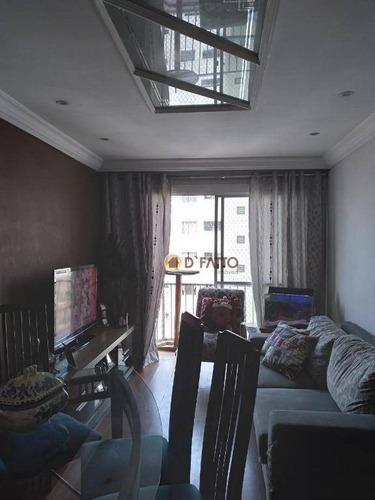 Imagem 1 de 25 de Apartamento Com 3 Dormitórios À Venda, 76 M² Por R$ 350.000,00 - Macedo - Guarulhos/sp - Ap2484