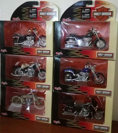 Colección Completa Moto Harley Davidson Serie 22 Escala 1/18