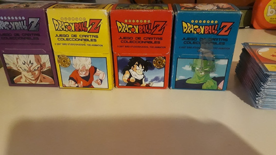 Cartas Dragon Ball Z Cromeros (precio X Mazo)