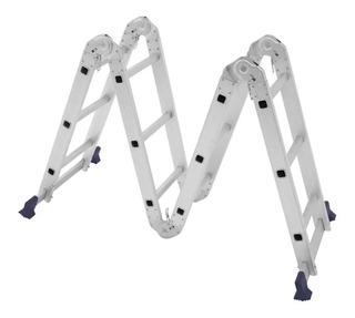 Escada Multifuncional Profissional 4x3 Bota Fogo