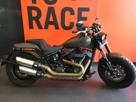 Harley Davidson - Fat Bob 114 - Cinza