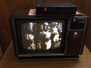 Televisor 14 Pulgadas Marca Zenith Americano Con Conversor