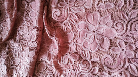 Vestido Rodado Renda Decote Redondo Mangas 3/4 Dj4