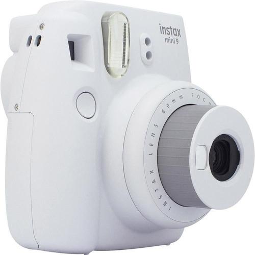 Câmera Instax Mini 9 Fujifilm Branca + Kit 20 Poses