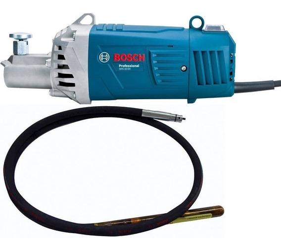 Vibrador De Concreto 2200w Gvc 22 Ex Con Manguera 3.5m Bosch