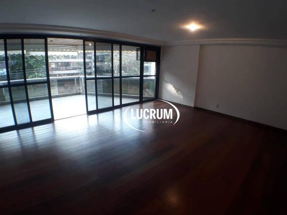 Apartamento Com 4 Quartos Para Alugar, 175 M² - Barra Da Tijuca - Rio De Janeiro/rj - Ap1177