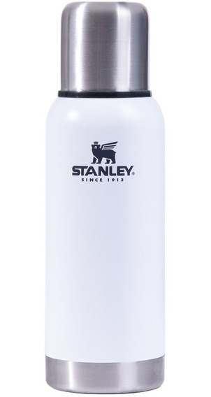 Termo Stanley 739ml Adventure Original Blanco Tapon Clasico
