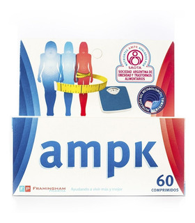 Ampk X 60 Comprimidos - Disminuye La Sensación De Hambre.