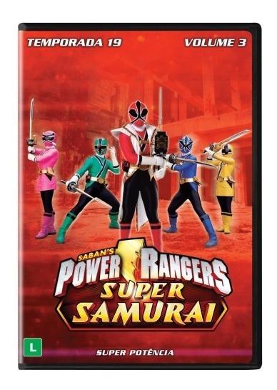 Power Rangers Super Samurai Temp.19 (vol. 3) Dvd Original