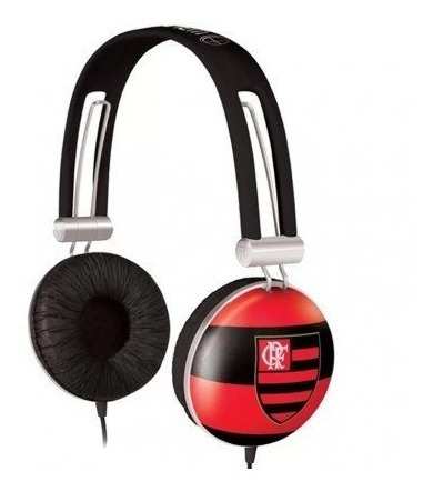 Fone De Ouvido Waldman Sg-10 Headphone Flamengo
