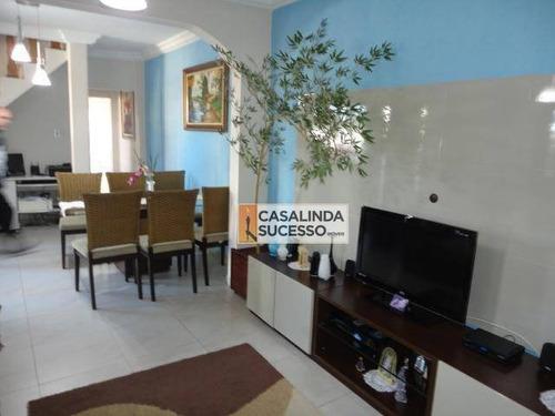 Sobrado Com 3 Dormitórios À Venda, 180 M² Por R$ 980.000,00 - Vila Matilde - São Paulo/sp - So0775