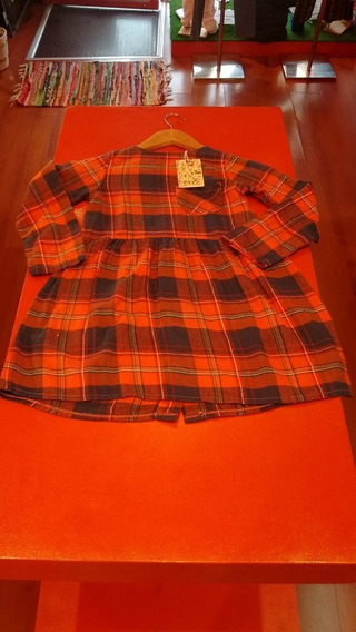 Vestido De Niña Invierno !! Crayon Nuevos