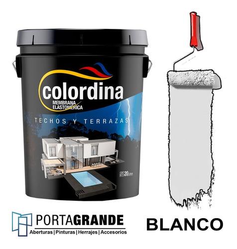Imagen 1 de 3 de Membrana Liquida Impermeabilizante Techos Colordina X 10kg
