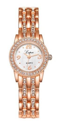 Relógio Feminino Dourado Barato Pequeno No Mercado Livre