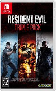 Resident Evil 4 - 5 - 6 Triple Pack / Nintendo Switch