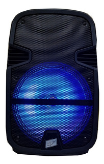 Parlante Portatil Bateria Y 220v Bluetooth Microfono Inalambrico Karaoke Luces Led Usb Manija Y Ruedas + Calidad Sonido