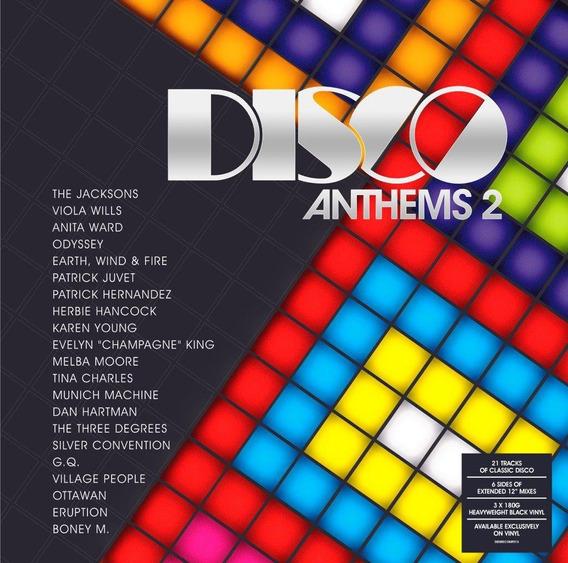 Disco Anthems 2 Vinilo Triple 180 Gramos Nuevo Importado