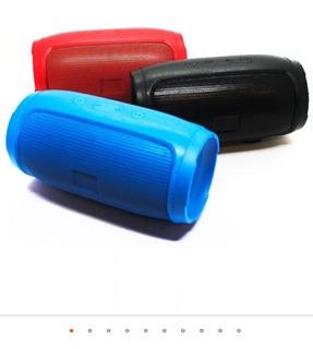 Parlante Bluetooth Símil Jbl - Colores Negro, Rojo Y Azul