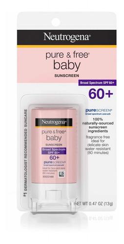 Neutrogena Pure Free Baby Fps 60+ Protetor Solar Stick 13g