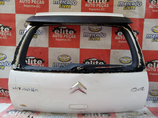 Tampa Traseira Porta Malas Citroen C4 Hatch Ano 2007/2008/12