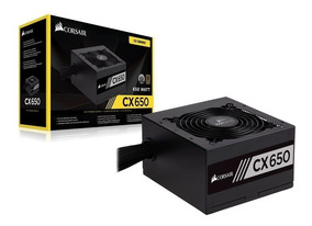 Fonte Corsair 650w 80 Plus Bronze Cx650 Cp-9020122-ww