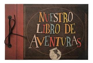 Album Para Fotos - Nuestro Libro De Aventuras - 20 Hojas
