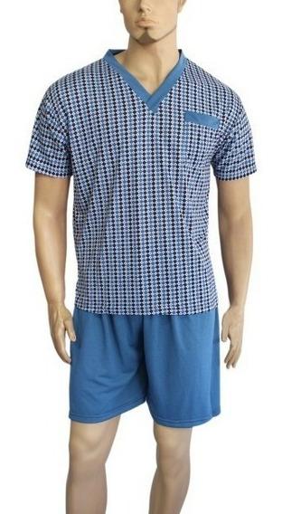 Pijama Hombre Pantalón Corto Alta Calidad