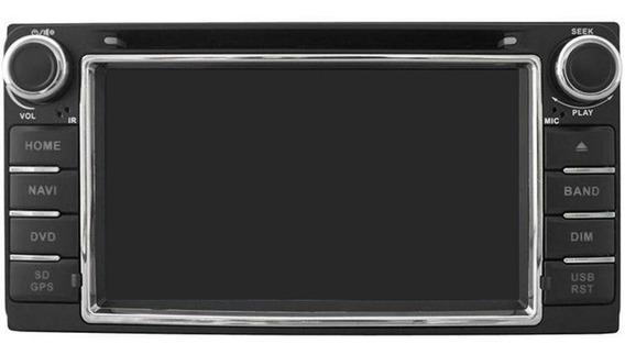 Central Multimídia Hetzer Com Bluetooth E Tela Hilux 2007/11