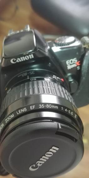 Canon Eos Rebel Xs Analogica + Lente Ef 35-80mm 1:4-5.6 Ii