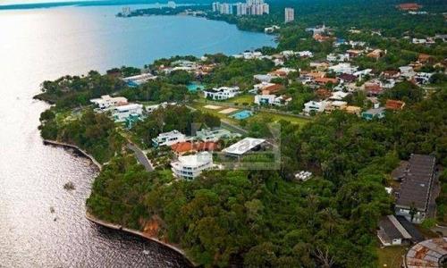 Imagem 1 de 5 de Casa Com 4 Dormitórios, 782 M² - Venda Por R$ 5.000.000,00 Ou Aluguel Por R$ 16.800,00/mês - Ponta Negra - Manaus/am - Ca4173