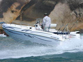 Lancha De Pesca Fly Fish 190 Mercury 90 Hp Elpto - Promoção