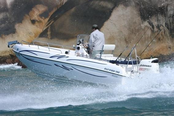 Lancha De Pesca Fly Fish 190 Mercury 90 Hp 4t Ct - Promoção