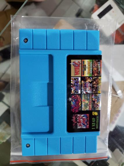 Cartucho 49 Em 1 Donkey Kong Country Snes Super Nintendo